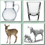 Glass Deers